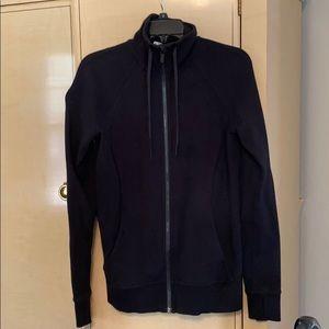 Lululemon black zip up sweathshirt!